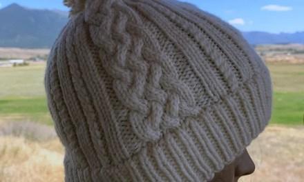 Sheridan Cable Knit Hat Pattern