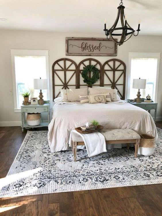 Soothing Farmhouse Bedroom Ideas To Copy Seemhome Com