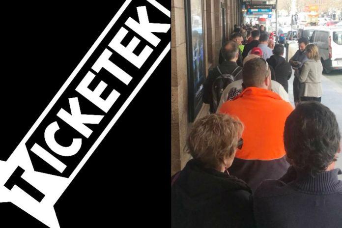 Ticketek Apologises