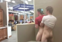 gay caught fucking in walmart - leaked gay video