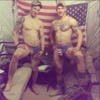 american naked Men & Soldiers