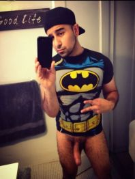Gay Batman Selfie With Uncut Porn Gay Videos and Pictures