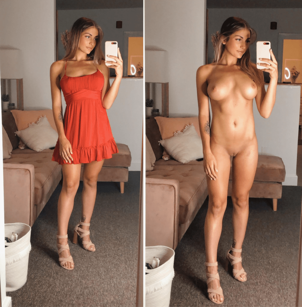 Before nude after porn