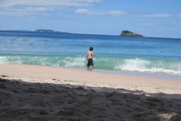 Wuchtiger Pazifik