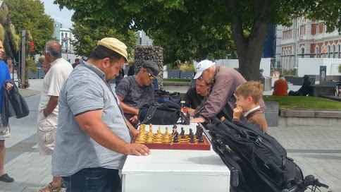 Chessround in Christchurch