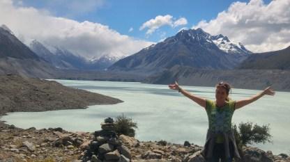 Am Tasman-Gletschersee