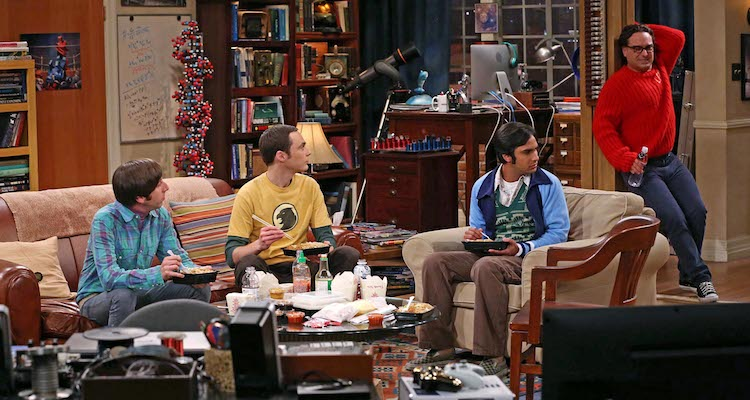 The Big Bang Theory helped E4 grow its audience numbers in 2013. Image: ©2013 Warner Bros Entertainment Inc