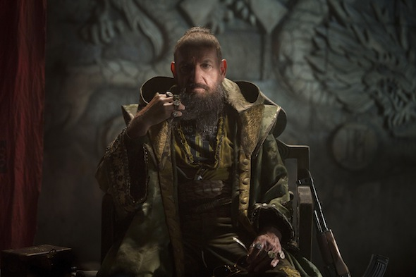 """Marvel's Iron Man 3""..The Mandarin (Ben Kingsley)..Ph: Zade Rosenthal..© 2012 MVLFFLLC. TM & © 2012 Marvel. All Rights Reserved."