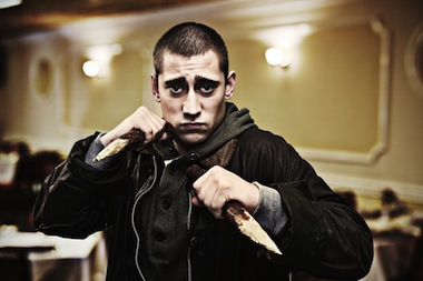 Michael Socha (Tom) . Image: BBC/Touchpaper