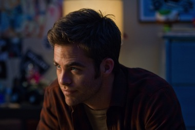Chris Pine stars in People Like Us, one of the films covered by today's deal.