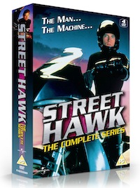 Street Hawk arrives on DVD this month