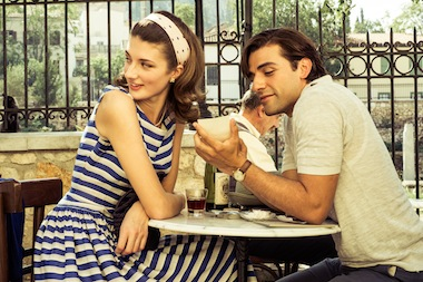 Daisy Bevan and Oscar Isaac star in The Two Faces of January