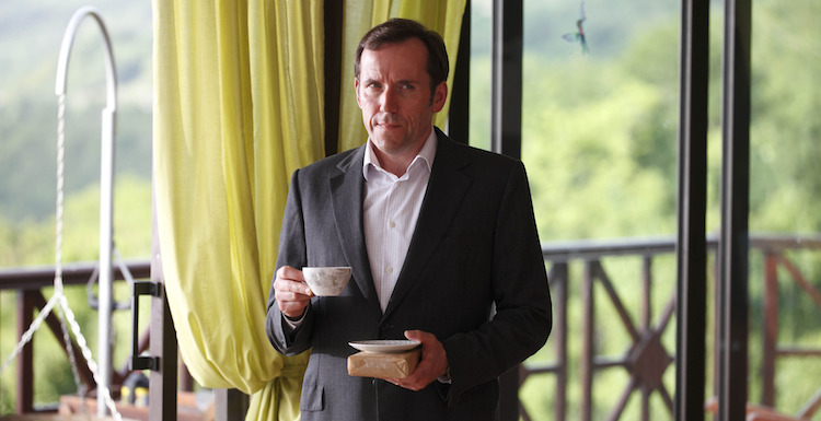 Ben Miller leaves BBC One's Death in Paradise this series. Image: BBC/Red Planet Pictures/Denis Guyenon