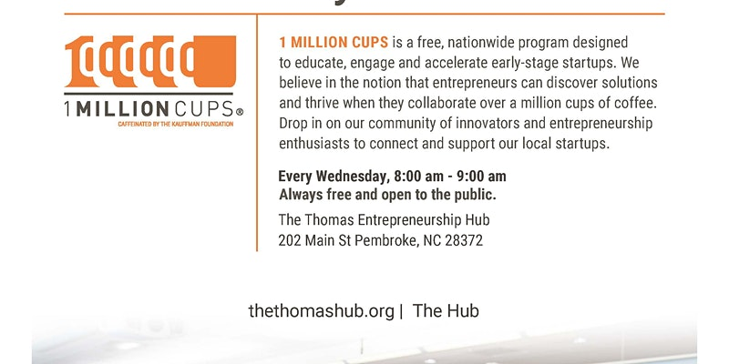 About 1 Million Cups Robeson County