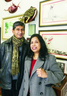 Ramesh and Chandra Paramesh of Farmington Hills