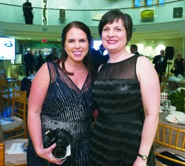 Jennie Miller of Royal Oak and Tricia Brosnahan of Dearborn