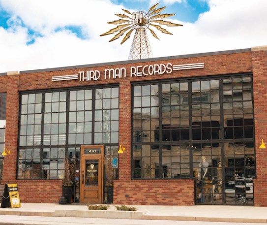 The Detroit store and record press is located on Canfield near Cass Ave in the famous Cass Corridor.