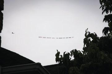 The flying banner proposal!