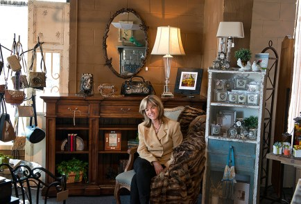 Janet Genn, designer and owner of Extra Oomph!