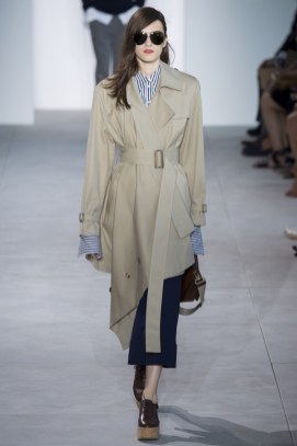 Asymetrical Trench Michael Kors Spring 2017