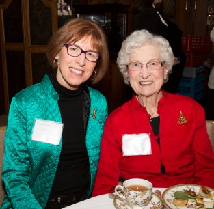 Karen Mazer of Yarmouth, Maine, and Connie Pururcker of Bloomfield Hills.