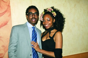 Austin Dunsen of Plymouth and actress and vocalist Jade Lathan of Detroit