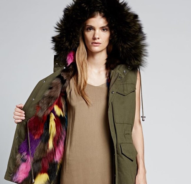 The Jocelyn army green jacket from SHE.