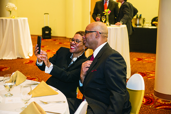 Michelle May and Ron James, both of Detroit