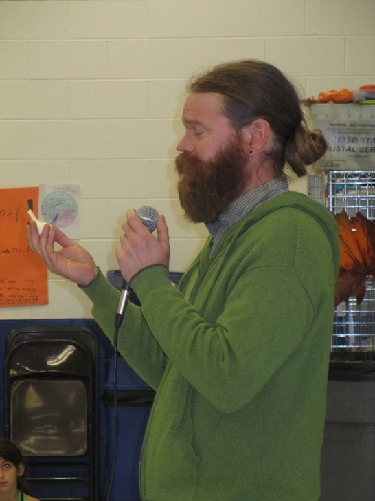 Patrick Crouch from the Capuchin Soup Kitchen in Detroit.