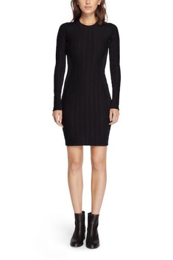 Rag and Bone Black ADA Dress