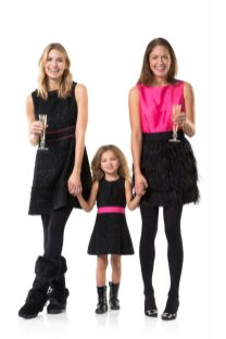 Holiday fashions for kids and mom at POSH and sister store Village Palm.