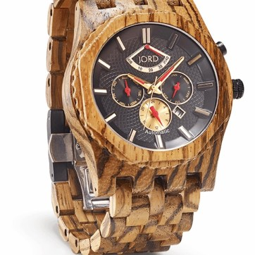 Jord Wooden Watch, $395