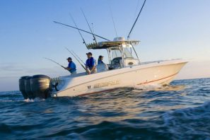 Wellcraft Marine 35 Scarab Sport Center Console Boat, MSRP: $181,000, available at Wilson Marine.