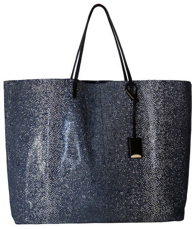 Linde Gallery Travel Tote from Found Objects