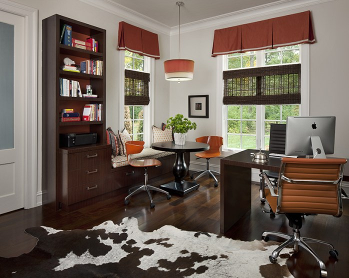 A seperate room for study is ideal. Rooms designed by Amy Miller Weinstein, amwdesignstudio.com.