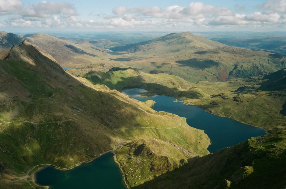 See Outside from the summit of Snowdon