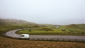 Driving to Edale