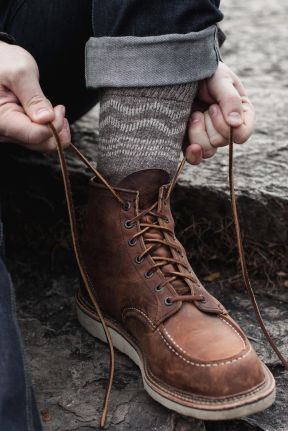 Classic Red Wing Heritage Moc Toe Boot