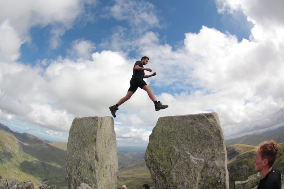 Making the leap from Adam to Eve on Tryfan