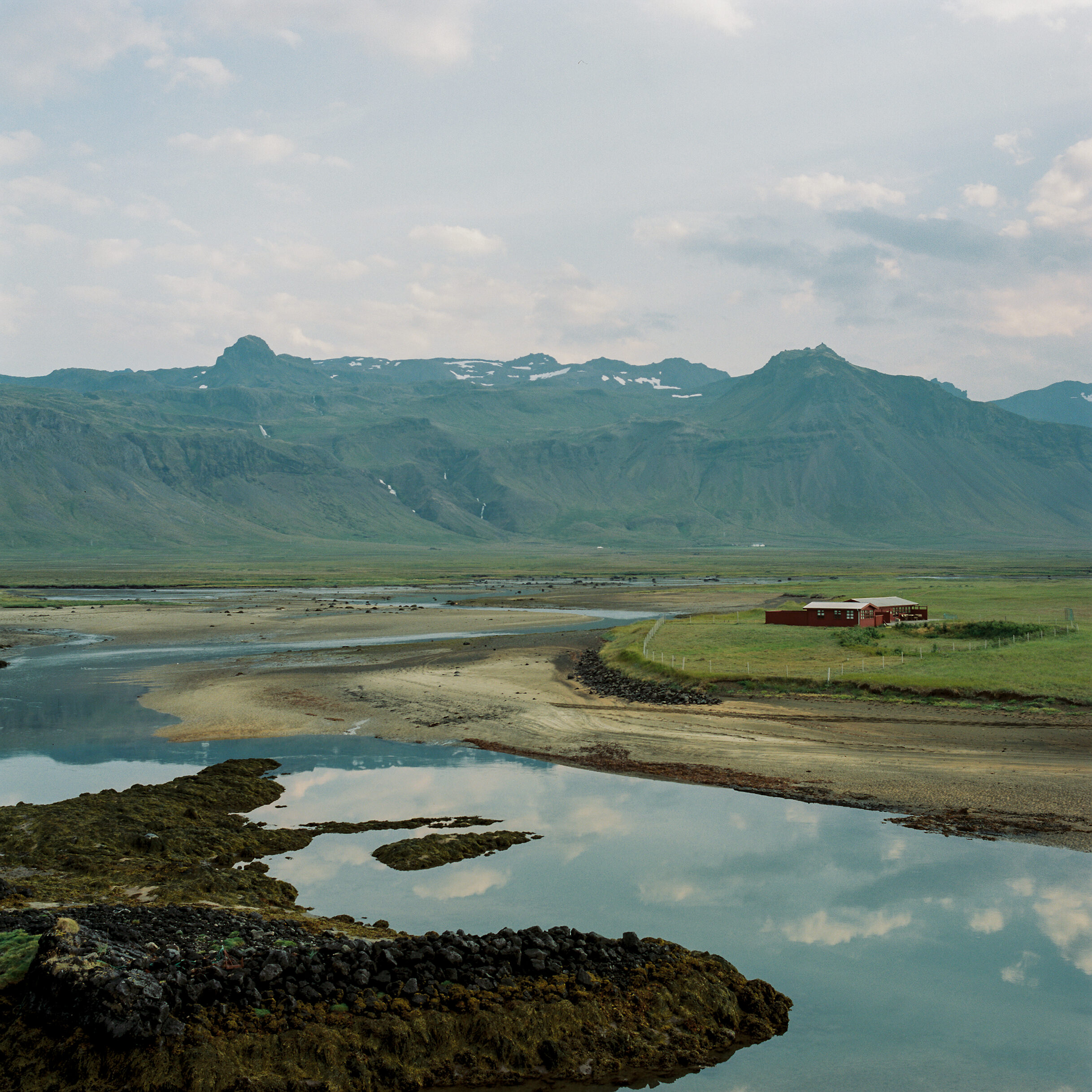 The raw and barren land of Iceland