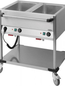 Chariot Bain Marie 2 GN