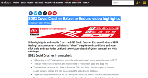 enduro21 Covid Crusher