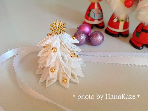 つまみ細工deクリスマスツリー講座【終了しました】
