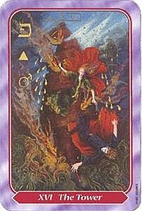 《塔羅命數》系列之16號牌 高塔
