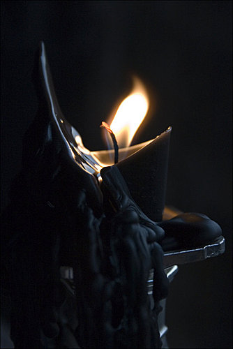 Samhain萬聖節個人簡易小儀式-黑色蠟燭轉化術