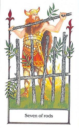 古徑塔羅小牌旅程之權杖七