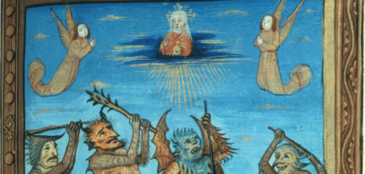 Medieval Art of Spirits, from the 14th Century