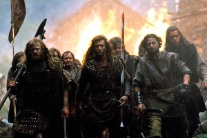 Heading into battle.