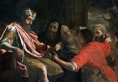 Daniel interprets the king's dream.