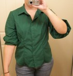 Green blouse again